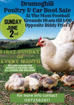 Drumoghill Poultry & Car Boot Sale