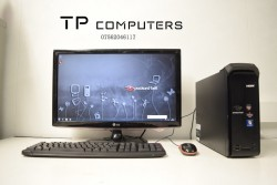 Office Computer PC Full Setup with Monitor (AMD CPU, 3gb, 1tb)