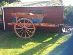 Barn Find. Horse cart