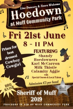 Hoedown at Muff Community Park
