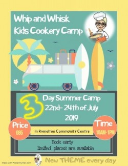 Whip and Whisk Kids Cookery Camp