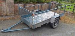 8 by 4 car trailer