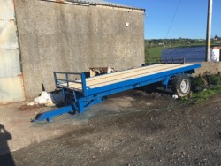 Flatbed / bale trailer