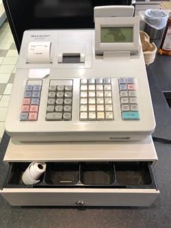 Sharp XE-A307 Cash Till