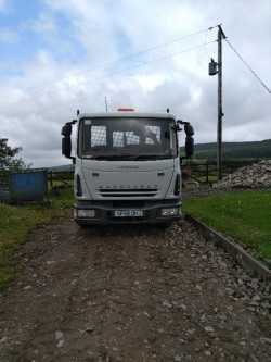 7.5t Iveco Tipper Lorry