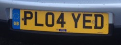 Really cool licence plate