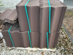 Brown roof tiles for sale