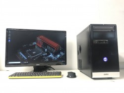 High Spec Gaming Computer PC Setup (Intel i5 7500, 16GB DDR4, 500GB M2 SSD, GTX 1050 Ti)