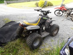 100cc 40 mph rwd quad