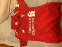 Liverpool soccer jersey