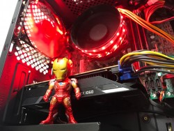 Iron Man Themed Gaming PC Computer from TP Computers