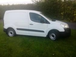 16 Peugeot partner 3 seater , tested clean van