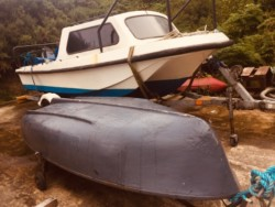 17ft Dory boat complete package with tender
