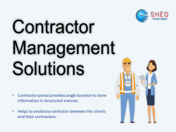 Best contractor Management Software Solution - Sheqportal