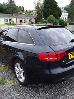 Damaged repairable 2012 Audi A4 TDI Estate