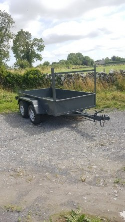 Builders trailer refurbished