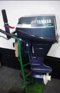 Yamaha 9.9hp 4-stroke longshaft