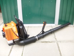 Back-pack leaf blowers...