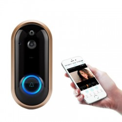 Wireless WiFi Security Home Monitor Intercom Door bell Standard.