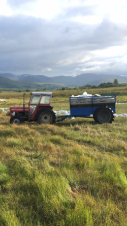 135 and dragging trailer