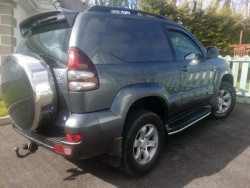 Toyota land cruiser  , taxed and tested, clean jeep