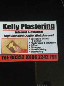 Kellysplastering