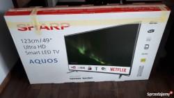 49 inch sharp smart tv  for sale