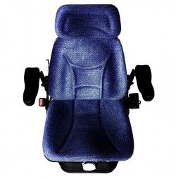 FORD NEW HOLLAND JOHN DEERE MASSEY FERGUSON GENERAL PURPOSE SPRING COMFORT SEAT WITH HEAD REST