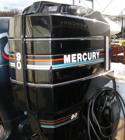 Mercury 90HP 2Stroke Longshaft Electric start Tilt & Trim Running 100%
