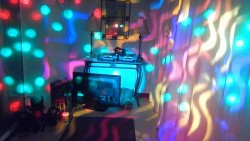 Dj Disco Lights & Smoke Machine