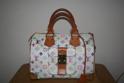 LOUIS VUITTON LV SPEEDY 30 MONOGRAM MULTICOLORE HANDBAG