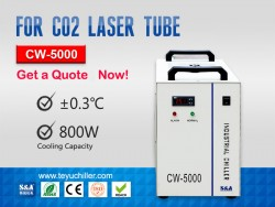 Small Industrial Water Chiller CW-5000