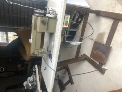 Industrial sewing machines. Singer Mitsubishi