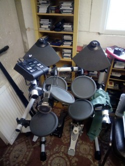 Yamaha Drum Kit DTX500K