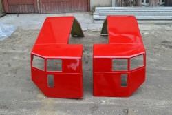 Case IH International Maxxum Tractor Steel Mudguard Fender Wing Pair 5120,5130,5140,5150 PAINTED
