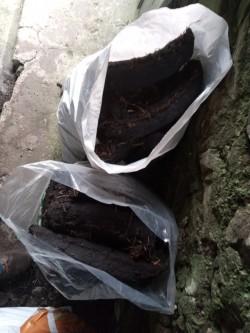 Bags of turf