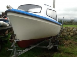 Oyster 16 Fishing Boat, Engine and Trailer