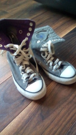 Converse All Star Grey high Tops