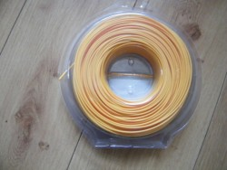 Strimmer cord.