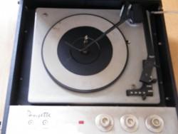 Dansette, vintage record player.