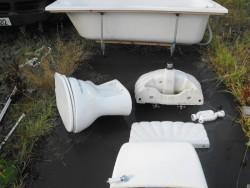 White Bathroom Suite for Sale