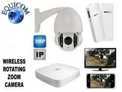 Digital Wireless Rotating Calving Camera System