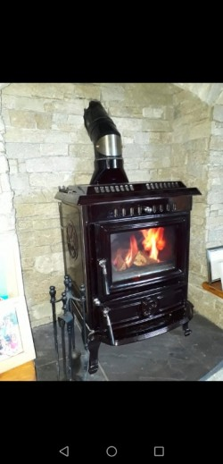 Aiden solid fuel Stove