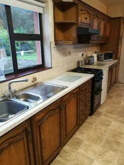 Shaded Oak Kitchen Units