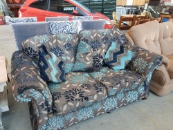 As new large two seater  imaculate