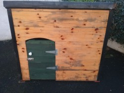 Wooden Dog Kennel/House for sale .