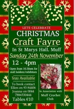 Annual Christmas Craft Fayre
