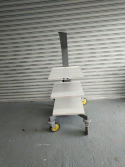 Work shop trollie & radiator