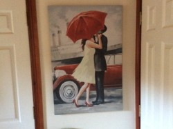 Canvas picture painting