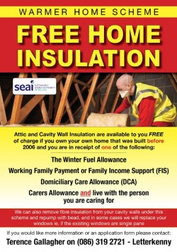 Free Home insulation service